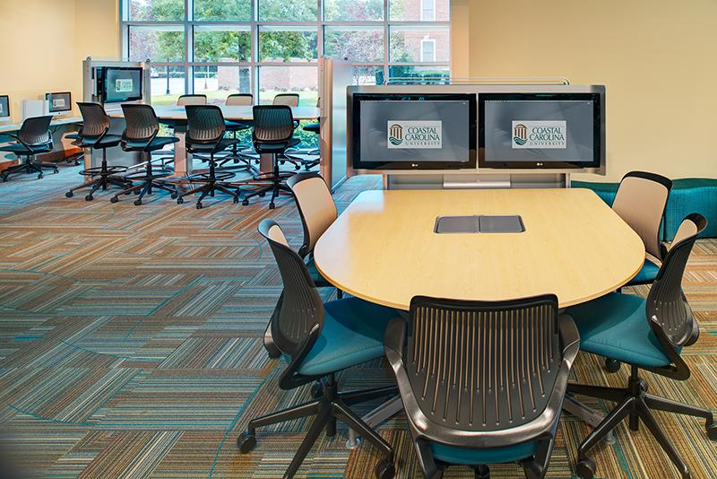 Office furniture and audiovisual technology
