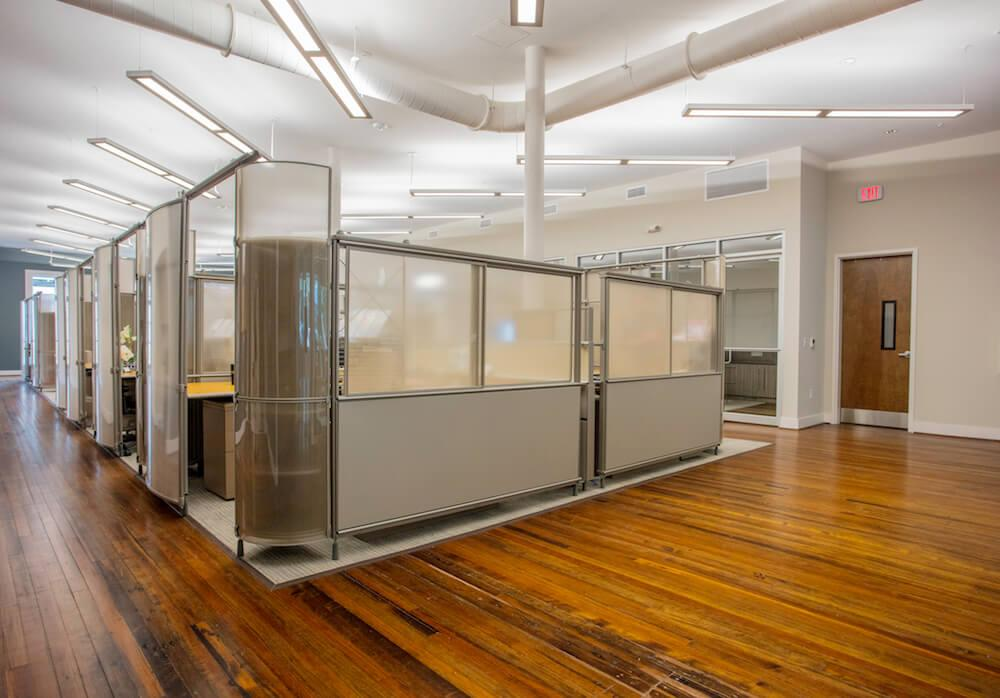 Cubicles at Cyberwoven