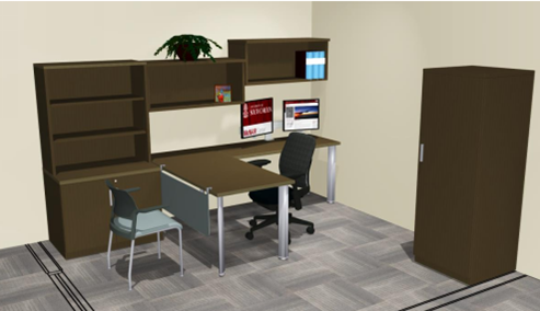 Office Furniture mock up